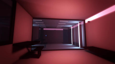 4K High Tech Super Criminal Prison Cell Lockup Scene v2 2 Animation
