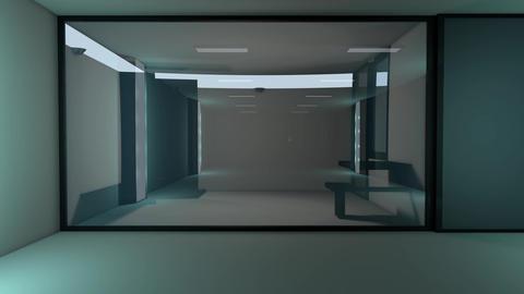 4K High Tech Super Criminal Prison Cell Lockup Scene v3 1 Animation