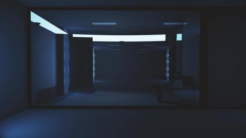 4K High Tech Super Criminal Prison Cell Lockup Scene v3 4 Animation