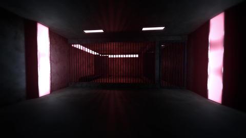 4K Old Worn Out Super Criminal Prison Cell Lockup Scene v1 2 Animation