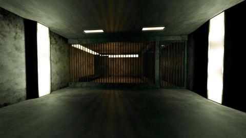 4K Old Worn Out Super Criminal Prison Cell Lockup Scene v1 3 Animation