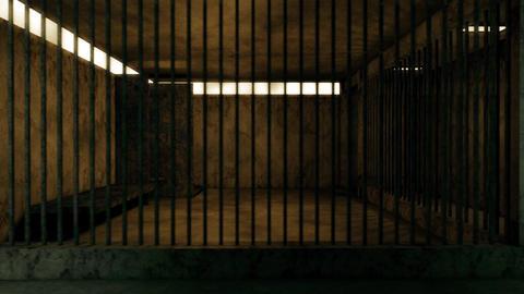4K Old Worn Out Super Criminal Prison Cell Lockup Scene v2 2 Animation