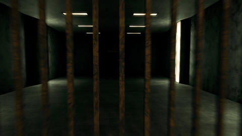 4K Old Worn Out Super Criminal Prison Cell Lockup Scene v4 2 Animation