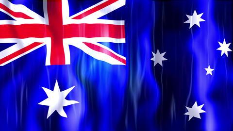 Australia Flag Animation