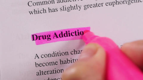 Medical Condition Highlighting Drug Addiction Live Action