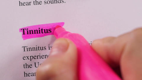 Medical Condition Highlighting Tinnitus Live Action