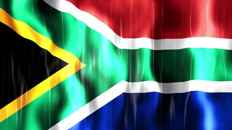 South Africa Flag Animation
