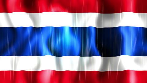 Thailand Flag Animation