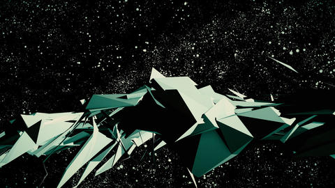 Abstract background. Universe Animation