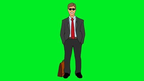 Businessman Animación