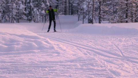 Evening Ski Trip ビデオ