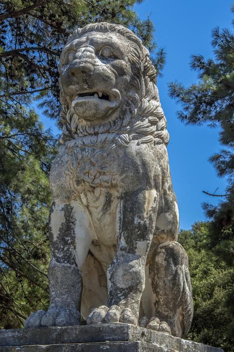 The Lion of Amphipolis, Greece (4th century BC) Photo