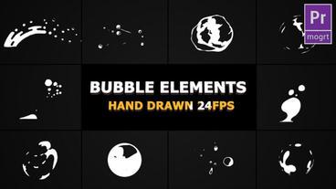 Flash FX BUBBLE Elements Motion Graphics Template