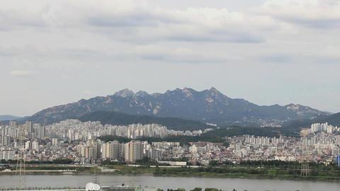 Seoul Han River1 Footage