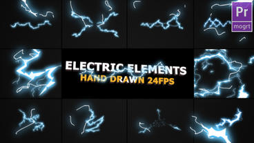 Flash FX Electric Elements Motion Graphics Template