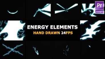Flash FX Energy Elements Motion Graphics Template