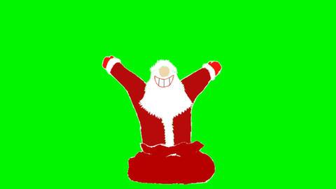 Santa Claus CG動画素材