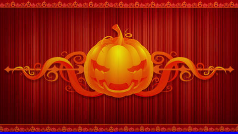 Halloween Curtain Animation