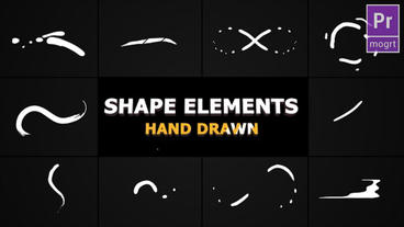 Flash FX Shape Lines Motion Graphics Template