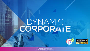 Dynamic Corporate Presentation – After Effects Template After Effects Template