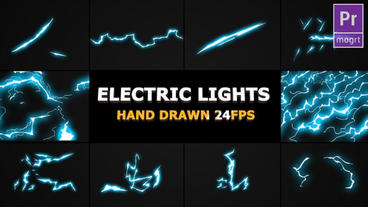 Flash FX Lightning Elements Motion Graphics Template