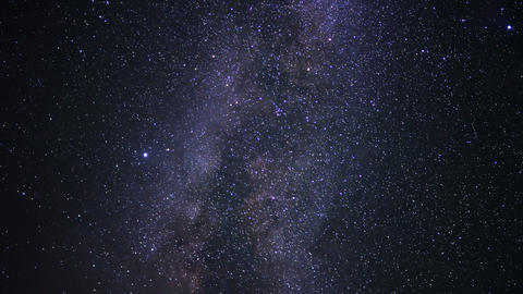 Milky Way Galaxy 100 Timelapse Mojave Desert Red Rock Canyon Footage