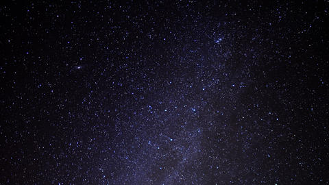 Milky Way Galaxy Time Lapse 25 Taurids Meteor Shower Mojave Desert Live Action