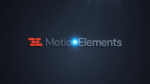 Particle Spin Logo After Effects Template