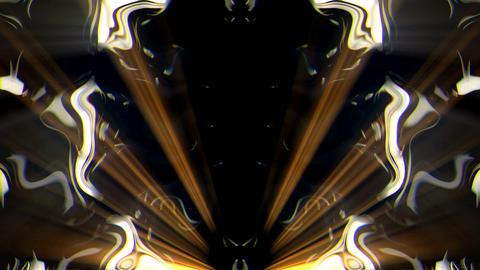 Silver Sparkles of Golden Liquid Light VJ Loop Footage