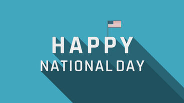 Happy National Day Plantilla de After Effects