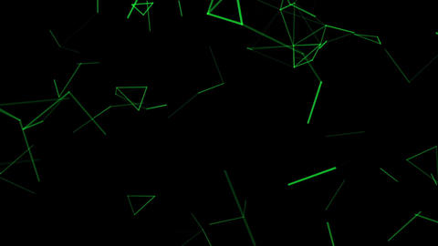 Abstract digital background with moving lines Stock Video Footage