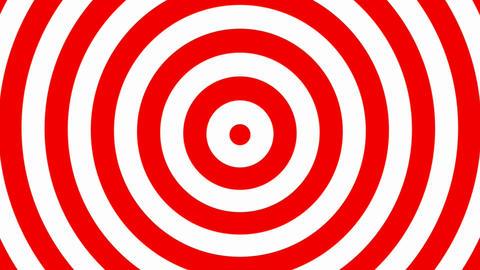 Hypnotic Circles Background Loop Animation