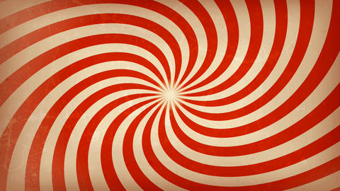 Circus carnival Spiral Background Rotation Animation