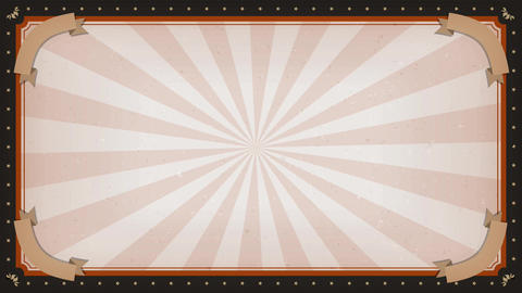 Circus carnival Frame Background Rotation Animation
