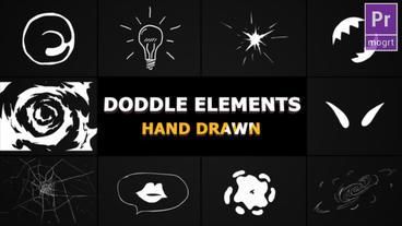 Flash FX Doodle Elements Motion Graphics Template