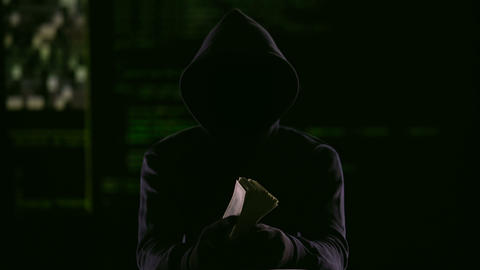 Internet fraudster receiving money he required to prevent fake hacking, cheating Live Action