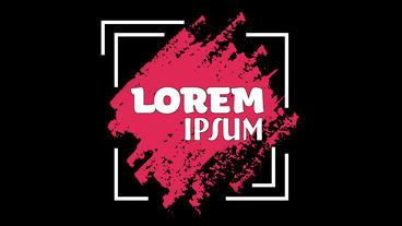 Lorem-IPsum Apple Motion Template