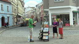 OLOMOUC, CZECH REPUBLIC, JULY 5, 2018: Jehovahs Witnesses religious society, two Footage