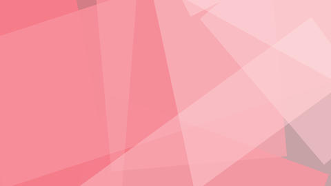 Pink angular shapes. Loopable motion background Live Action