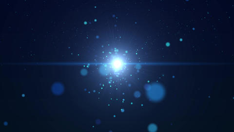Background CG Space Energy Animation