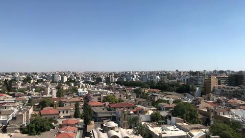 The city center of Nicosia, Cyprus Footage
