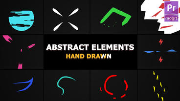 Flash FX Abstract Elements Motion Graphics Template