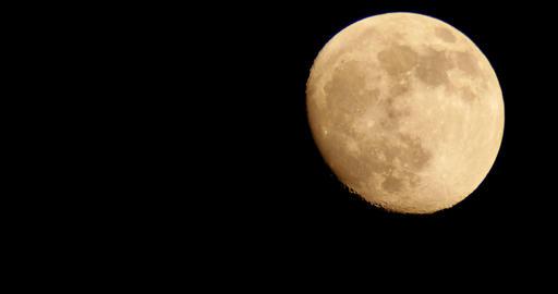 Moon LM10 Telescope Shot Footage