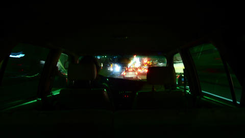 Driving Hyperlapse Inside 04 Los Angeles Cityscape Footage