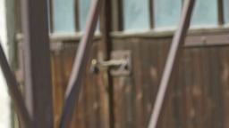 Locked Barn Door Footage