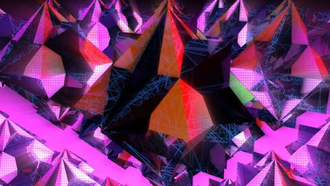Dark crystals Animation