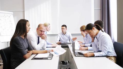 business people meeting in office Footage