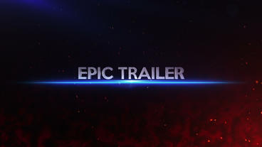 Epic Cinematic Trailer After Effects Project