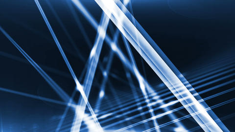 Optical fibers of fiber optic cable. Internet technology Animation