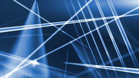 Abstract Optical Fibers Animation